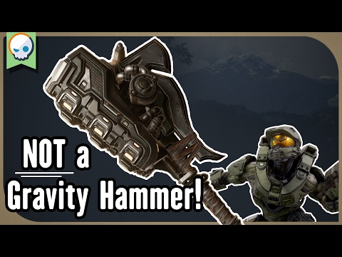 Halo Theory How the Gravity Hammer Works Gnoggin