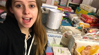 17 and Pregnant || BABY SHOWER HAUL! Part 1