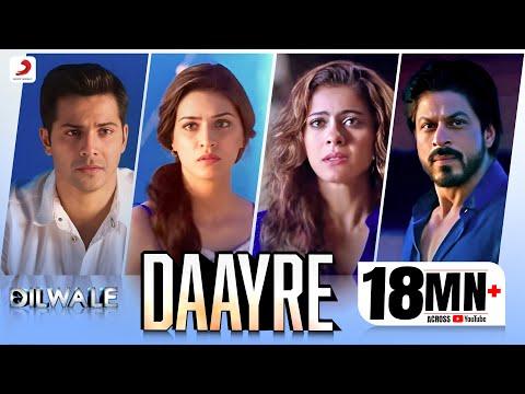 Daayre - Dilwale | Shah Rukh Khan| Kajol | Varun | Kriti | Official Music Video 2015