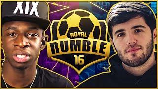 TOBI VS JOSH (MATCHDAY 2) | FIFA 16 ROYAL RUMBLE 2 TOURNAMENT