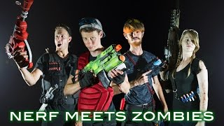 Nerf meets Call of Duty: ZOMBIES 2.0 | Full Movie! (First Person in 4K!)