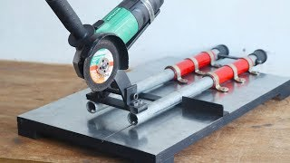 Sliding Angle Grinder Stand || Make A Angle Grinder Miter Saw