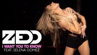 Zedd - I Want You To Know ft. Selena Gomez (Dance Routine)