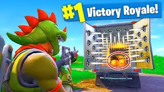 THE TRAP TRUCK! Fortnite: Battle Royale
