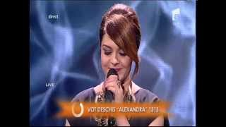 "Duel: Adele - ""Someone Like You"". Interpretarea Alexandrei Crişan, la X Factor!"