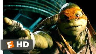 Teenage Mutant Ninja Turtles (2014) - April Meets the Turtles Scene (2/10) | Movieclips