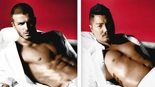 Asian Men Re-Create Iconic Underwear Ads