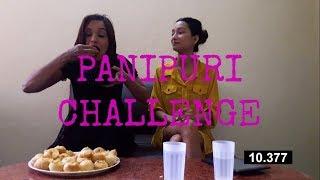 Archana Paneru and Sunita Paneru|| PaniPuri Challenge || S $ AC||