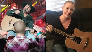 Garth Brooks Gives Superfan Fighting Breast Cancer the Surprise of a Lifetime