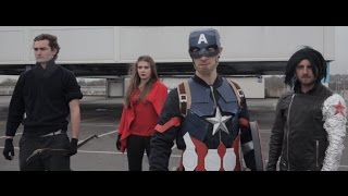 Captain America: Civil War Bloopers - Budget Videos