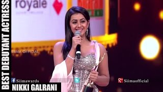 Micromax Siima 2015 | Best Debutant Actor (Female) Malayalam | Nikki Galrani