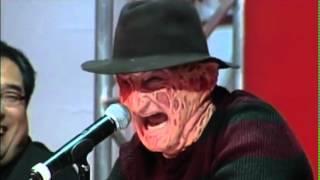 Freddy Vs Jason: Rueda De Prensa Con Pelea. Subtitulado En Español