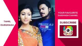 Tamil Dubmash Semba and  Karthik - Vijay TV Raja Rani Serial Actors