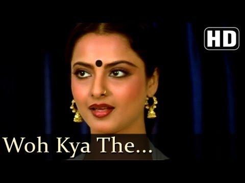 Woh Kya The  - Rakesh Roshan - Rekha - Bahu Rani Songs - Asha Bhosle