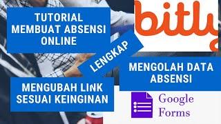 Tutorial Membuat Absensi Online dan Mengubah URL Form sesuai keinginan #part 2