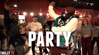 Chris Brown - Party - Choreography by Taiwan Williams   #TMillyProductions