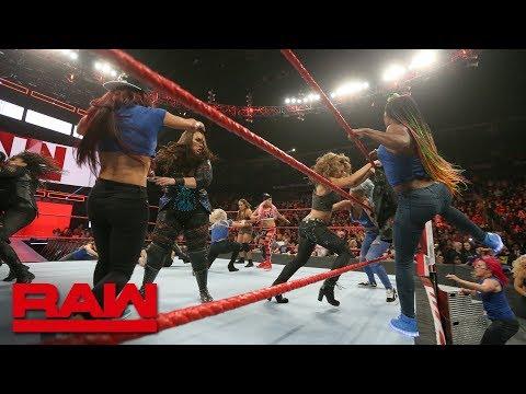 Xxx Mp4 Becky Lynch Leads A SmackDown Women 39 S Invasion Raw Nov 12 2018 3gp Sex