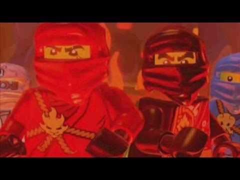 LEGO Ninjago: Shadow of Ronin Walkthrough Part 4 - Fire Temple / Ronin Boss Fight (3DS / Vita)