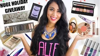 HUGE Holiday Giveaway- Urban Decay, Tarte, Lorac & More! (CLOSED)