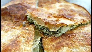 Pite me spinaq (recete e detajizuar)   Spinach Pie Recipe (complete recipe)