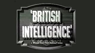 British Intelligence (1940) [Thriller] [Romance] [War]