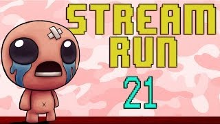 Stream Run 21: The Unbinding of Isaac!
