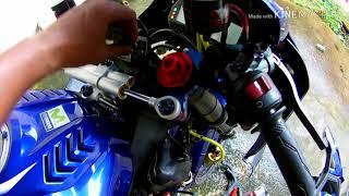 Yamaha R15 #รื้อรถเปลี่ยนท่อยางหม้อน้ำ SAMCO ให้ดูสวยขึ้น