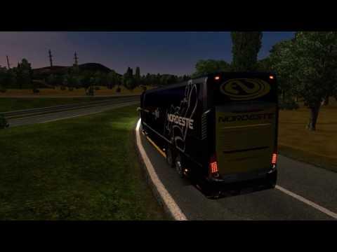 Euro Truck Simulator 2 Bus trip to Udine with Modasa Zeus 3 DP 6x2 FINAL