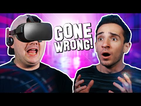 VR GAME GONE WRONG