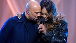 COMMON and Yolanda Adams Perform 'GLORY' LIVE at The White House
