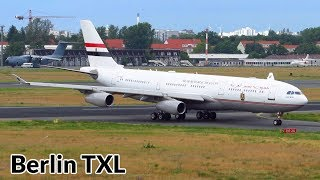 1+ Hour INSANE Planespotting at Berlin Tegel Airport: A340-200, A400M, 777, A330, 767, 757, 737BBJ