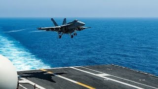 UK and US Navy Ships Position to Attack Syria