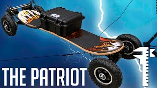 DIY 9,000 Watt All-Terrain Mountainboard Beast Power-sliding and Off-roading