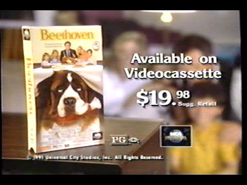 Beethoven 1992 Promo VHS Capture