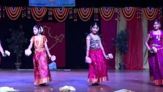 Poorvi Dinesh 11 years Indian Dance - Folk Fusion Patriotic Kannada
