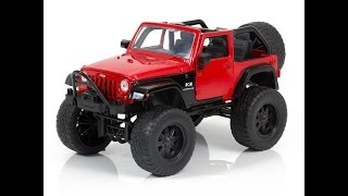 Jeep Wrangler Just Trucks Off Road Edition 1/24 Scale For Kids