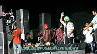 Ammy Virk    Dilpreet Dhillon    Live At Manupur    Dilpreet Dhillon Village ( PART 1 )
