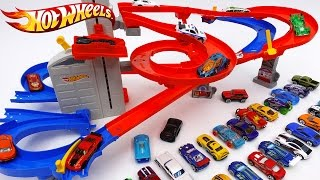 Hot Wheels Auto Lift Expressway~! Load up Your Cars and Watch Them Race Skyward