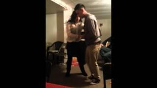 Bailando Cumbia sonidera