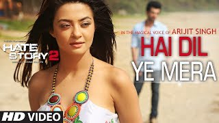 Hai Dil Ye Mera Video Song | Arijit Singh | Hate Story 2 | Jay Bhanushali, Surveen Chawla