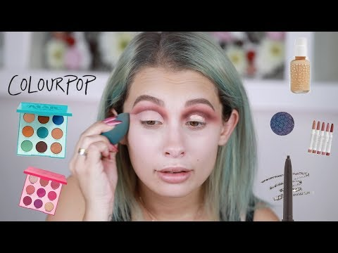FULL FACE MAKEUP USING ONLY COLOURPOP PRODUCTS