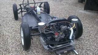 Porsche 356 Speedster replica chassis building