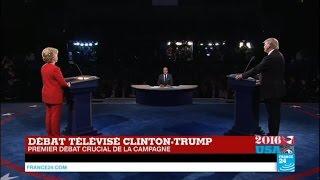 REPLAY - Présidentielle US : revoir le 1er Débat Clinton vs Trump en intégralité