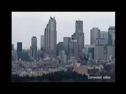 Japonyadaki Gökdelenlerin 9 Şiddetinde sallanışı Deprem Anı