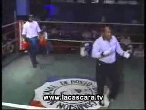 O lutador que desafiou alguém da plateia