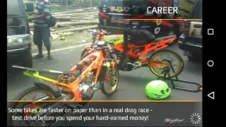KOLOR IJO BERAKSI!!!! - Drag bike 201M mod indonesia