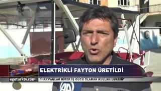 ELEKTRİKLİ FAYTON ÜRETİLDİ