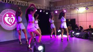 Wendy Shay performs 'Uber Driver' and 'Bedroom Commando' at Miss Ghana 2018 grande finale