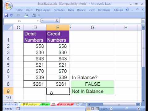 Excel Basics #22: IF function formula made easy!