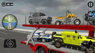 Vehicle Transporter Car Simulator - Truck Pengantar Mobil - Android Gameplay